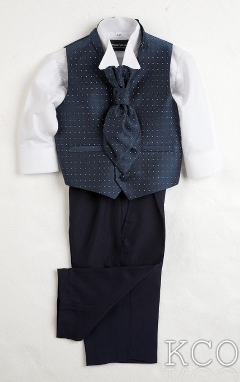 Sicily Navy~ Boys Suits